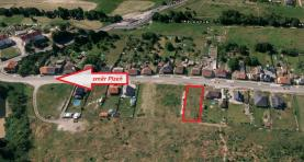 Prodej, stavební pozemek, 1015 m2, Zbůch, ul. Hornická