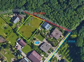 Prodej, pozemek, 997 m2, Ostrava - Bartovice