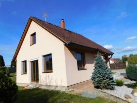 Prodej, rodinný dům, novostavba, 4+kk, 80 m2, Libá