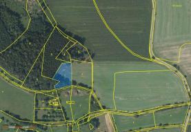 Prodej, pozemek, 3161 m2, Voděrady - Vojenice