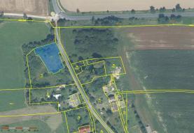 Prodej, pozemek, 1141 m2, Mikulovice - Kolnovice