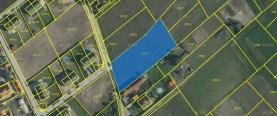 Prodej, pozemek, 2039 m2, Tuhaň - Červená Píska