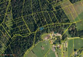 Prodej, les, 409 m2, Návsí