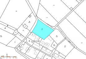 Prodej, pozemek určený k výstavbě 2284 m2, Zamachy - Chaloup