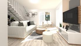 Prodej, byt 4+kk, 89 m2, Velké Přílepy, ul. Sportovní