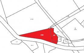 Prodej, stavební parcela, 2124 m2, Písařov
