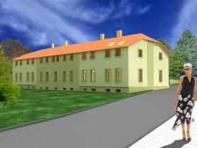 Prodej, byt 1+1, 40 m2, Holice, Hanzlova ul.