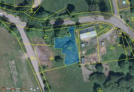 Prodej, pozemek, 602 m2, Luby - Dolní Luby