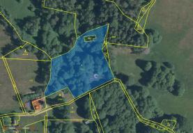Prodej, pozemek, 5882 m2, Nejdek - Bernov