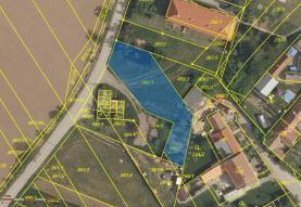 Prodej, pozemek, 691 m2, Ketkovice