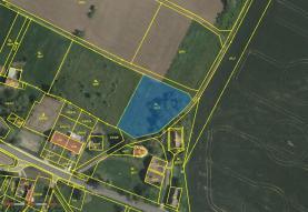 Prodej, pozemek, 2280 m2, Dyjákovice