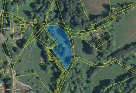 Prodej, pozemek, 2537 m2, Kraslice - Valtéřov