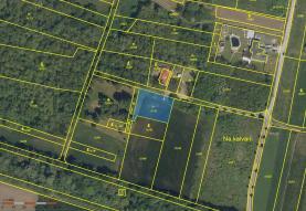 Prodej, pozemek, 808 m2, Hrabětice
