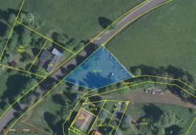 Prodej, pozemek, 800 m2, Aš - Vernéřov