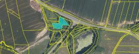 Prodej, stavební parcela, 2256 m2, Postřekov - Pod Hamří