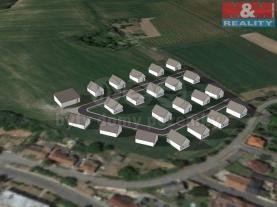 Prodej, stavební parcela, Zvoleněves