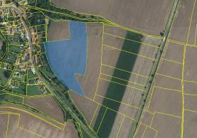 mapka pole (Prodej, pole, 24.051 m2, Přistoupim), foto 2/3
