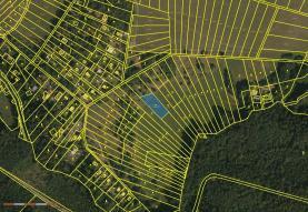 Prodej, zahrada, 1049 m2, Prostějovičky