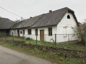 Prodej, rodinný dům 2+1, 578 m2, Chrášťany