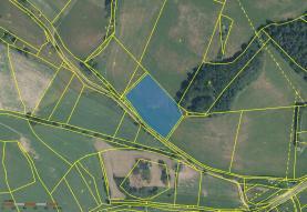 Prodej, pozemek, 6484 m2, Kolinec