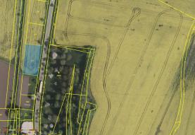 Prodej, pozemek, 998 m2, Nabočany