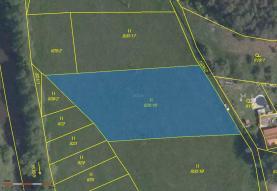 Prodej, pozemek, 2587 m2, Mladotice