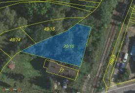 Prodej, pozemek, 408 m2, Luštěnice - Voděrady