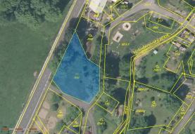Prodej, pozemek, 1050 m2, Velký Šenov
