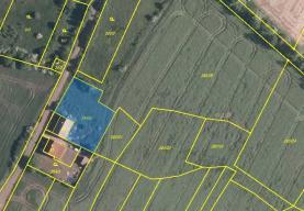 Prodej, pozemek, 1042 m2, Vroutek - Skytaly