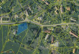 Prodej, pozemek, 1095 m2, Lovečkovice - Touchořiny