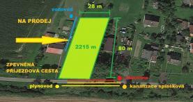 Prodej, zahrada, 2215 m2, Dolní Lutyně - Věřnovice