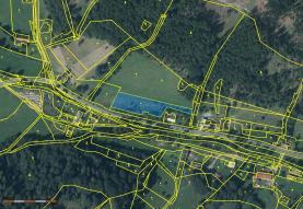 Prodej, pozemek, 500 m2, Hošťálkovy - Vraclávek