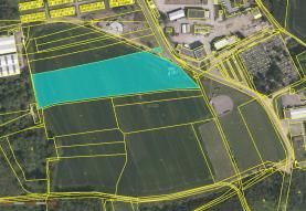 Prodej, pozemek, 4922 m2, Pardubice - Popkovice