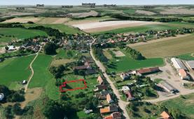 Prodej, stavební parcela, 820 m2, Kříše - Břasy