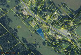 Prodej, pozemek, 560 m2, Bělá pod Pradědem - Domašov