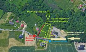 Prodej, stavební pozemek, 1000 m2, Vratimov, ul. Rákovecká
