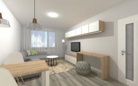 Prodej, byt 3+kk, 82 m2, Brno - Veveří, ul. Grohova