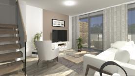 Obývací pokoj (Prodej, novostavba 4+kk, 124 m2, Liberec, ul. Vřesová), foto 3/13