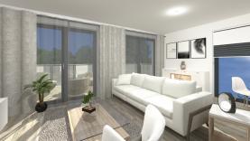 Obývací pokoj (Prodej, novostavba 4+kk, 124 m2, Liberec, ul. Vřesová), foto 2/13