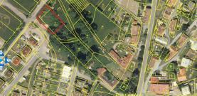 Prodej, stavební parcela, 1000 m2, Protivanov, ul. Bukovská