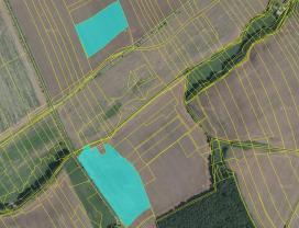 Prodej, orná půda, 27160 m2, Podluhy