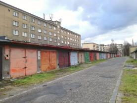 Prodej, garáž, 18 m2, Ostrava, ul. Výstavní