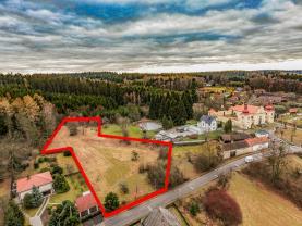 Prodej, stavební pozemek, 4982m², Sudějov