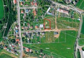 Prodej, stavební parcela, 1223 m2, Žákava