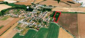 Prodej, stavební parcela,12017 m2, Horoušany