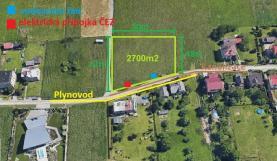 Prodej, stavební pozemek, 2700 m2, Šenov
