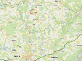 Prodej, lesy, 56 333 m2, Jesenice, okres Rakovník