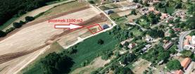Prodej, stavební parcela,1100 m2, Přehvozdí