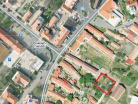 Prodej, stavební pozemek 766 m2, Brozany n Ohří