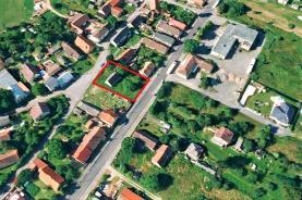 Prodej, stavební parcela, 1030 m2, Svojkovice